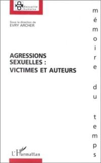 Cover Agressions sexuelles : victimes et auteu