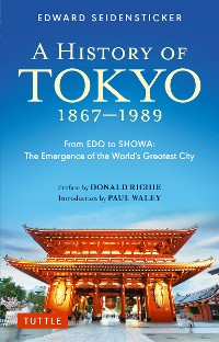 Cover History of Tokyo 1867-1989