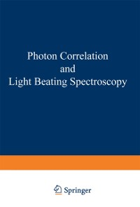 Cover Photon Correlation and Light Beating Spectroscopy
