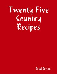 Cover Twenty Five Country Recipes