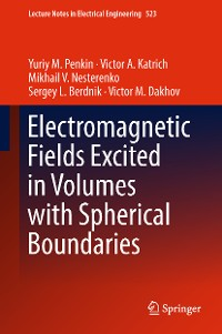Cover Electromagnetic Fields Excited in Volumes with Spherical Boundaries