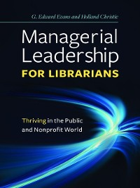 Cover Managerial Leadership for Librarians