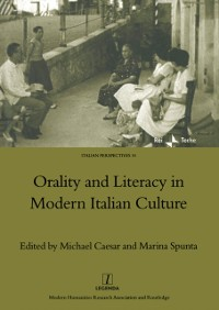 Cover Orality and Literacy in Modern Italian Culture