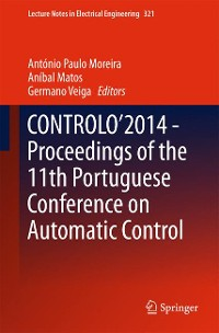 Cover CONTROLO'2014 – Proceedings of the 11th Portuguese Conference on Automatic Control