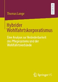 Cover Hybrider Wohlfahrtskorporatismus