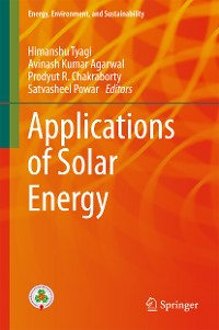 Cover Applications of Solar Energy