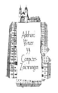 Cover 33 Computer-Zeichnungen