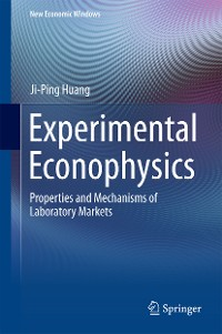 Cover Experimental Econophysics