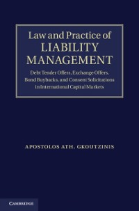 Cover Law and Practice of Liability Management
