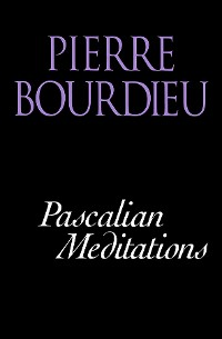 Cover Pascalian Meditations