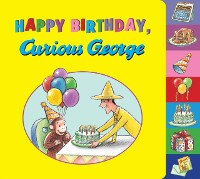 Cover Happy Birthday, Curious George