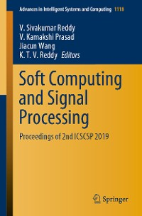 Cover Soft Computing and Signal Processing