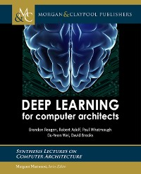 Cover Deep Learning for Computer Architects