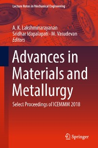 Cover Advances in Materials and Metallurgy