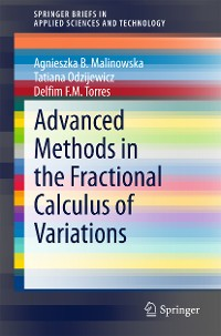 Cover Advanced Methods in the Fractional Calculus of Variations