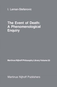 Cover Event of Death: a Phenomenological Enquiry