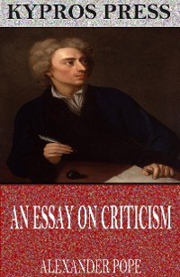 Cover An Essay on Criticism