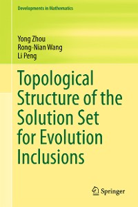 Cover Topological Structure of  the Solution Set for Evolution Inclusions
