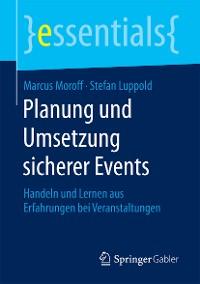 Cover Planung und Umsetzung sicherer Events