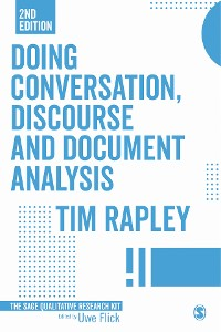 Cover Doing Conversation, Discourse and Document Analysis