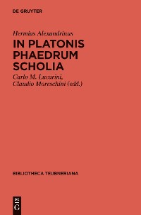 Cover In Platonis Phaedrum Scholia