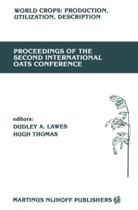 Cover Proceedings of the Second International Oats Conference