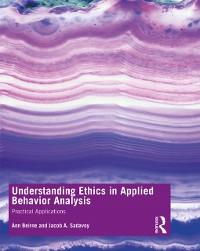 Cover Understanding Ethics in Applied Behavior Analysis