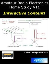 Cover Amateur Radio Electronics V11 Home Study
