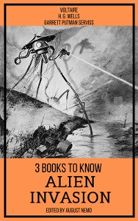 Cover 3 books to know Alien Invasion