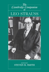 Cover Cambridge Companion to Leo Strauss