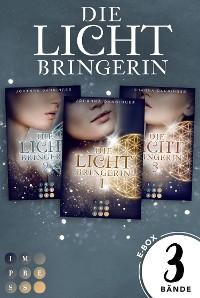 Cover Sammelband der magischen Lichtbringer-Trilogie von Erfolgsautorin Johanna Danninger