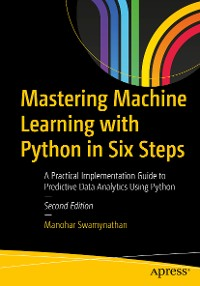 Cover Mastering Machine Learning with Python in Six Steps