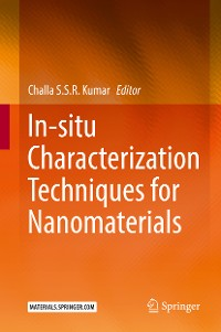 Cover In-situ Characterization Techniques for Nanomaterials