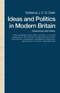 Cover Ideas and Politics in Modern Britain