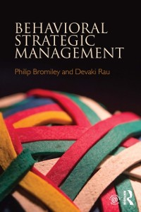 Cover Behavioral Strategic Management