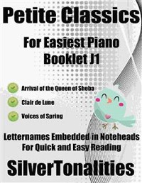 Cover Petite Classics for Easiest Piano Booklet J1