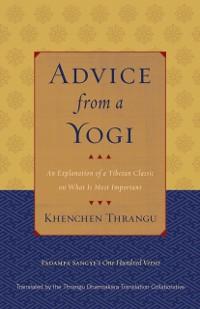 Cover Advice from a Yogi