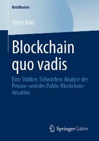 Cover Blockchain quo vadis