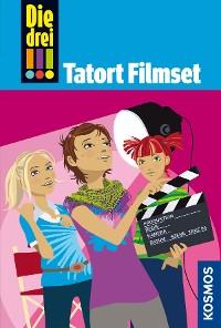 Cover Die drei !!!, 26, Tatort Filmset (drei Ausrufezeichen)