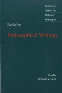 Cover Berkeley: Philosophical Writings