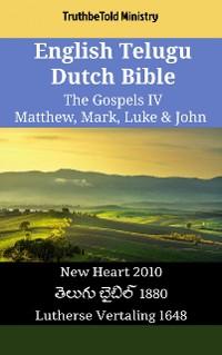 Cover English Telugu Dutch Bible - The Gospels IV - Matthew, Mark, Luke & John