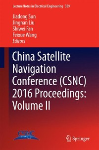 Cover China Satellite Navigation Conference (CSNC) 2016 Proceedings: Volume II