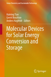 Cover Molecular Devices for Solar Energy Conversion and Storage