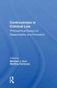Cover Controversies In Criminal Law