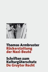 Cover Rückerstattung der Nazi-Beute