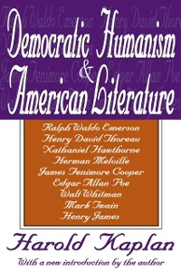 Cover Democratic Humanism and American Literature
