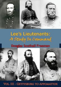 Cover Lee's Lieutenants: A Study In Command