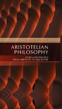 Cover Aristotelian Philosophy