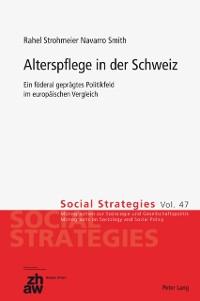Cover Alterspflege in der Schweiz