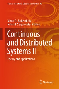 Cover Continuous and Distributed Systems II